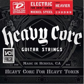 Dunlop DHCN1150 HEAVY CORE NPS 11-50 Heavier Guage Electric Guitar Strings