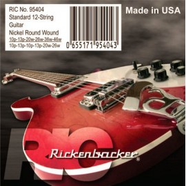 Rickenbacker 95404 12 String Nickel Round Wound 10-46 Electric Guitar Strings