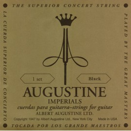 Augustine Imperial Black 28.7 - 43.5 Medium/Low Tension Classical Guitar Strings