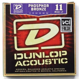 Dunlop DAP1152 Medium Light Phosphor Bronze 11-52 Acoustic Guitar Strings