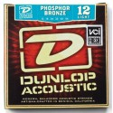 Dunlop Light Phosphor Bronze 12-54 Acoustic Guitar Strings