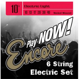 Encore Light 10-46 Nickel Wound Electric Guitar Strings