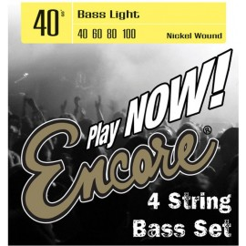 Encore EBS40 Light 40-100 Nickel Wound Electric Bass Strings