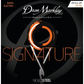 Dean Markley 2503 Signature Series 10-46 NickelSteel Electric Guitar Strings