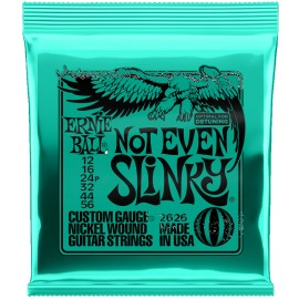 Ernie Ball Not Even Slinky 12-56 Nickel Electric Guitar Strings 2626
