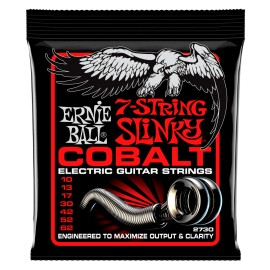 Ernie Ball 2730 7 String Cobalt Skinny Top Heavy Bottom Slinky 10-62 Electric Guitar Strings