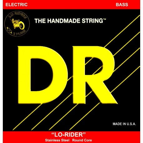 DR Handmade LH-40  Lo Rider Lite Stainless Steel Bass Strings 40 - 100
