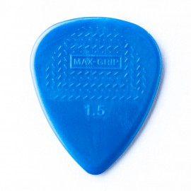 Jim Dunlop 449P150 Nylon Standard Max-Grip Guitar Pick 1.5mm