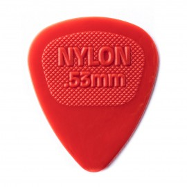 Dunlop Nylon Midi Standard - .53mm Pick 443R53 - Each (red)