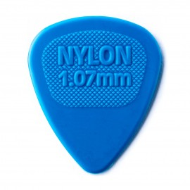 Dunlop Nylon Midi Standard - 1.07mm Pick 443R107 - Each (blue)
