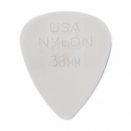 Jim Dunlop 44R38 Nylon Standard Guitar Pick .38mm
