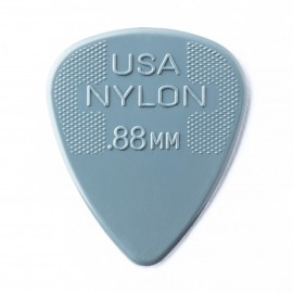 Jim Dunlop 44R88 Nylon Standard Guitar Pick .88mm