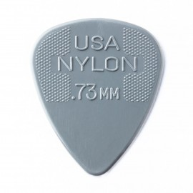 Jim Dunlop 44R73 Nylon Standard Guitar Pick .73mm