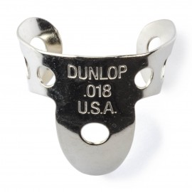 Jim Dunlop 33R Nickel Silver Finger Pick 18""