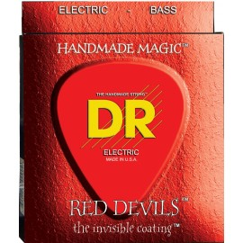 Dr Handmade 5 String Red Devils 45-125 Medium Coated Bass Strings RDB5-45