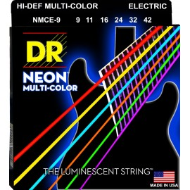 Dr Handmade NMCE-9 'Multi-Color Coated NIckel Plated' 09 - 42,  Lite, Electric Guitar Strings