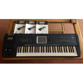 Korg Triton Extreme 61 Keys Music Keyboard Workstation Sampler.