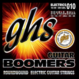 Ghs Double Ball End Boomers 10-46 Light Nickel Electric Guitar Strings DB-GBL
