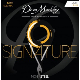 Dean Markley Signature 09-42 Light Nickel Electric Guitar Strings 2502