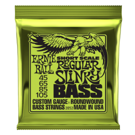 Ernie Ball Hybrid Slinky 45-105 Nickel Bass Guitar Strings 2833