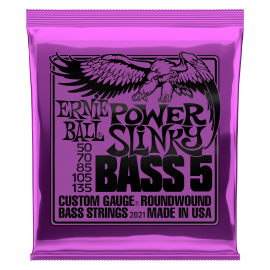 Ernie Ball  Power Slinky Bass 5 String