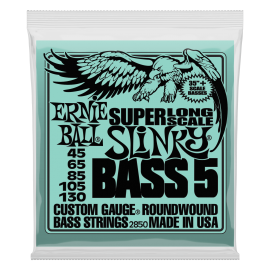 Ernie Ball Super Long Scale Slinky Bass 5 String