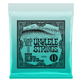 Ernie Ball Clear Nylon Concert or Soprano 28-28 Ball End Ukulele Strings 2329