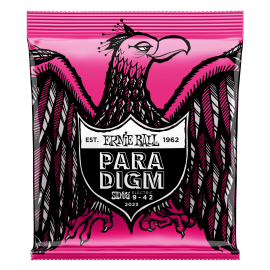 Ernie Ball 2023 Paradigm Super Slinky 09-42 Electric Guitar Strings