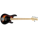 New SUB RAY5 Vintage Sunburst Satin 5 String Bass with Maple Fretboard by Stirling By Musicman