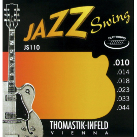 Thomastik-Infeld  Jazz Swing Flatwound 10-44 Electric Guitar Strings JS110