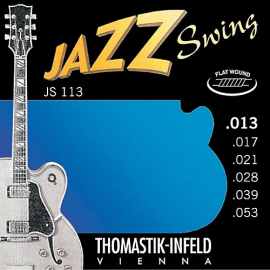 Thomastik-Infeld  Jazz Swing Flatwound 13-53 Electric Guitar Strings JS113