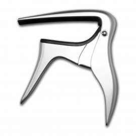 B-bird Original Acoustic / Electric Capo in Brushed Chrome Alloy BCAPO-CR
