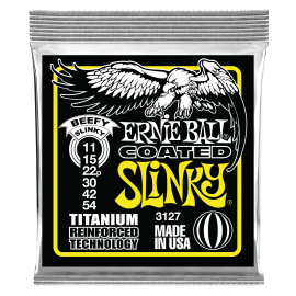Ernie Ball Coated RPS Beefy Slinky 11-54 Titanium Electric Guitar Strings 3127