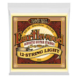 Ernie Ball Earthwood 12 String 09-46 Light 80/20 Bronze Acoustic Guitar Strings 2010