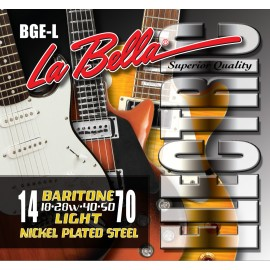 La Bella 09-42 Extra Light Nickel Electric Guitar Strings HRS-XL