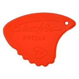 Sharkfin Relief SOFT Red Guitar Picks GP104 - each