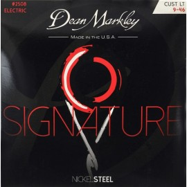 Dean Markley Signature 09-46 Custom Light Nickel Electric Guitar Strings 2508