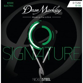 Dean Markley Signature 13-56 D-Tune Nickel Electric Guitar Strings 2500