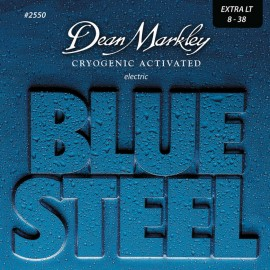 Dean Markley Blue Steel 08-38 Extra Light Nickel Electric Guitar Strings 2550