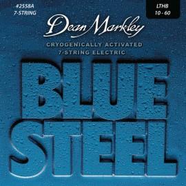Dean Markley 7 String Blue Steel 10-60 Light Top Heavy Bottom LTHB Nickel Electric Guitar Strings 2558A
