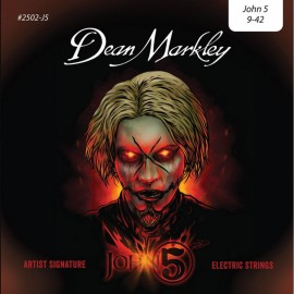 Dean Markley John 5 Artist Series 09-42 Light Nickel Electric Guitar Strings 2502-J5