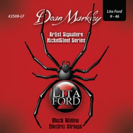 Dean Markley Lita Ford Artist Series 09-46 Light Nickel Electric Guitar Strings 2508-LF