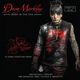 Dean Markley DJ AShba Artist Series 10-48 Regular Nickel Electric Guitar Strings 2507-DJ