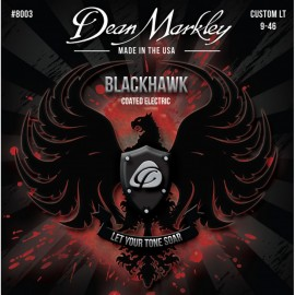 Dean Markley Blackhawk 09-46 Custom Light Coated Nickel Electric Guitar Strings 8003
