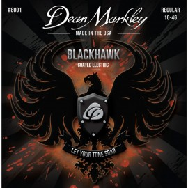 Dean Markley Blackhawk 10-46 Regular Coated Nickel Electric Guitar Strings 8001