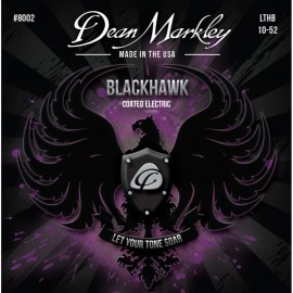 Dean Markley Blackhawk 10-52 Light Top Heavy Bottom LTHB Coated Nickel Electric Guitar Strings 8002