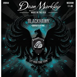 Dean Markley Blackhawk 11-49 Medium Coated Nickel Electric Guitar Strings 8004