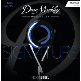 Dean Markley Signature 11-52 Medium Nickel Electric Guitar Strings 2505