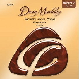 Dean Markley Signature Series Vintage Bronze 12-54 Medium Light Acoustic Guitar Strings 2004