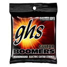 Ghs Boomers Low Tuned 11-70 Heavyweight Low Tuned Nickel Electric Guitar Strings GBZWLO